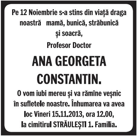 Gazeta de sud anunturi decese
